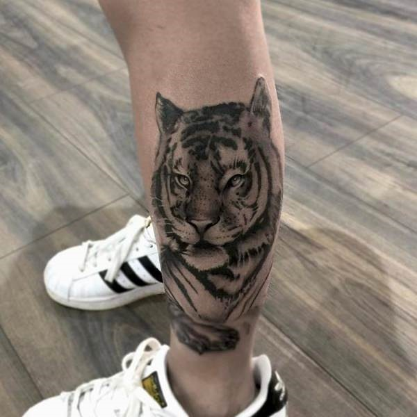 80 masterful tiger tattoos to make you queen or king of for Tiger tattoos for females