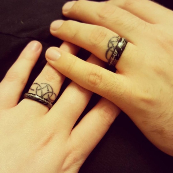 Wedding Ring Tattoos.70 Engagement Ring Tattoos Never Seen Before For You And Your Love