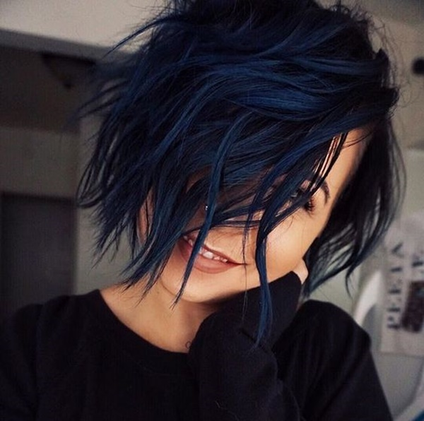 110 Blue Black Hair Best Ideas With Tutorial