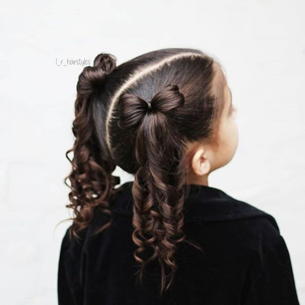 Long Hair Easy Cute Hairstyles For Little Girls 78