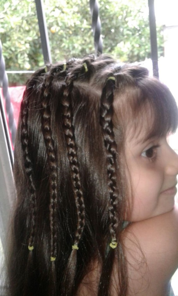 75 Easy Braids For Kids With Tutorial