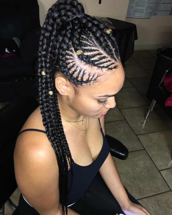 125 Ghana Braids Inspiration Amp Tutorial In 2018