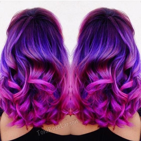 155 Mermaid Hair Trend Color Ideas Reachel