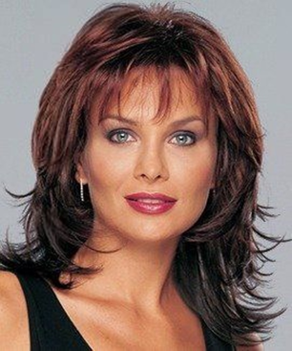 Layered Hairstyles For Women Over 50 43