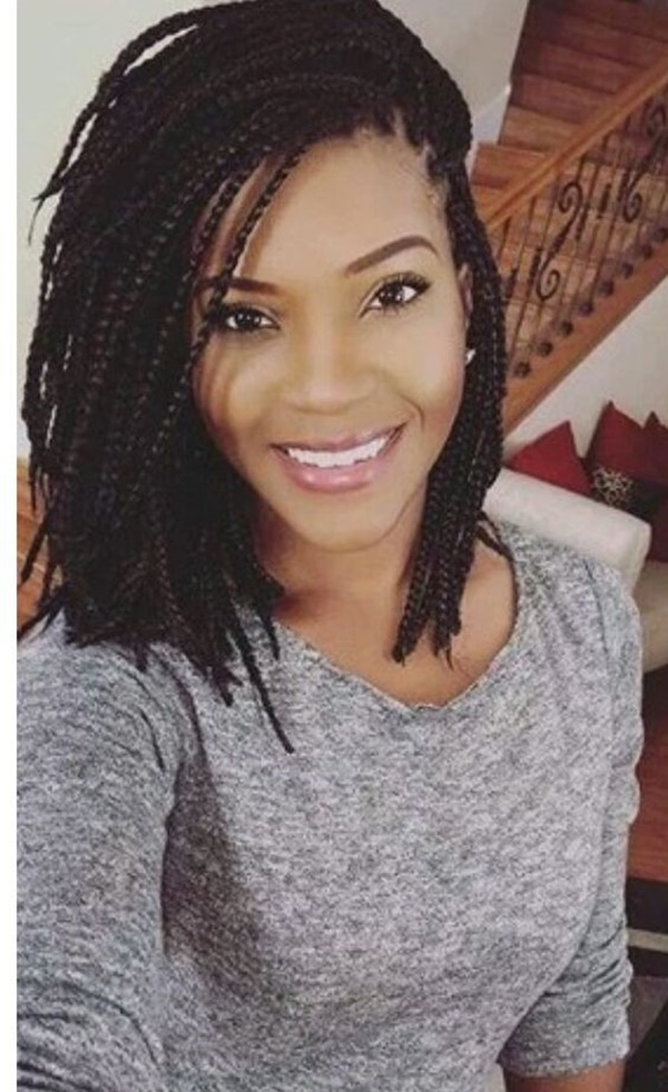 ... Braid Simply Looks Perfect And Neat With The Braids Pulled Back  Downwards Starting From The Front Hairline. This Hairstyle Is Not Only Less  Stressful ...