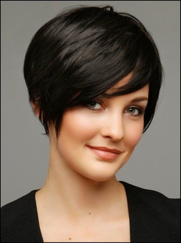 155 Short Haircuts For Round Faces (with Tutorial