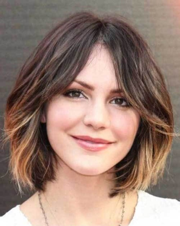 155 Short Haircuts For Round Faces With Tutorial