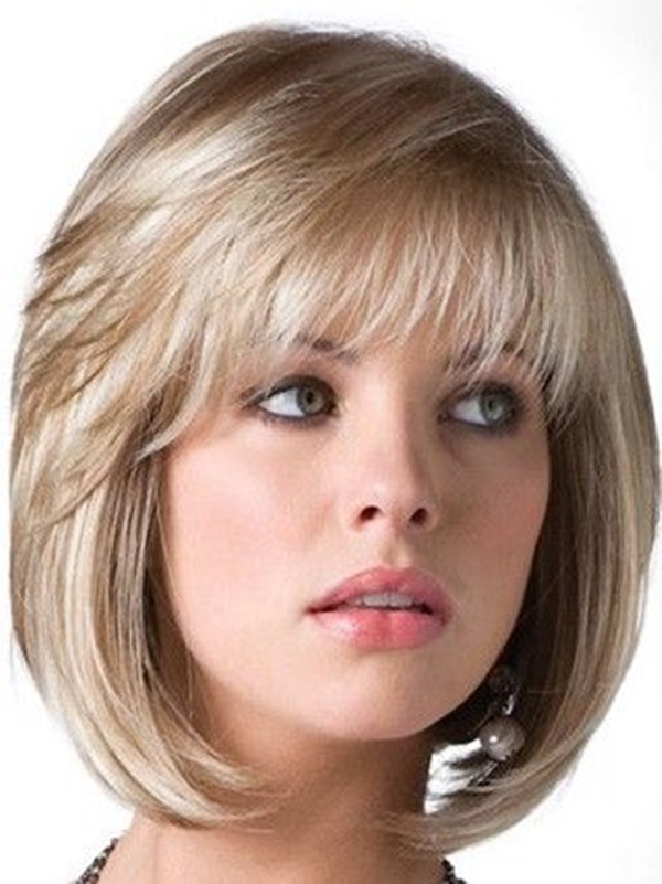 155 Short Haircuts For Round Faces With Tutorial Reachel