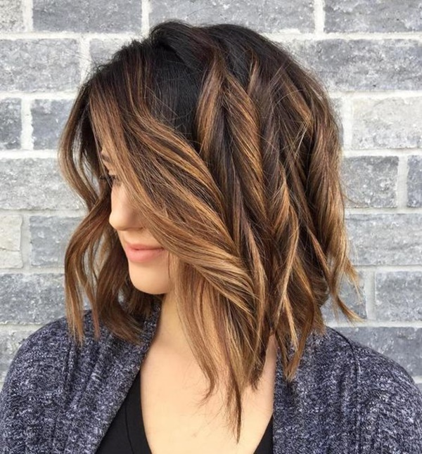 45 stunning ideas for styling your caramel highlights reachel but there are still some unusual variations which you might just like so if you plan to get yourself an ombre hairstyle then a slight change might be solutioingenieria Image collections