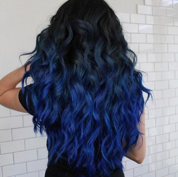 How To Achieve The Dark Blue Hair You Always Wanted To Have