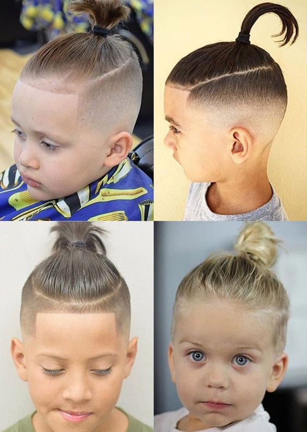 you should leave it to a professional to style your child\u0027s hair,  instead of doing it by yourself. The remainder of the hair is shaped into  an undercut.