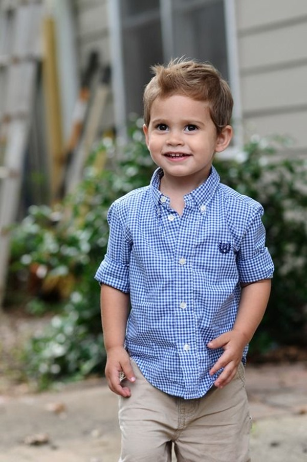 125 Trendy Toddler Boy Haircuts Reachel