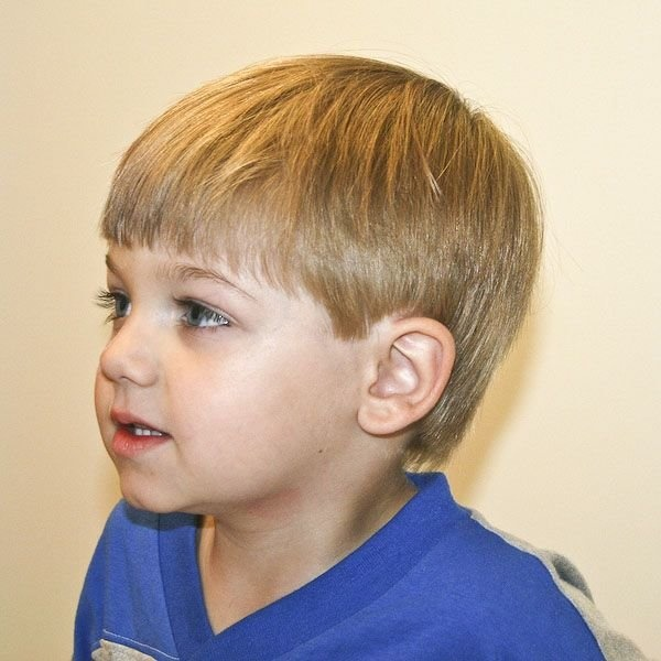 125 Trendy Toddler Boy Haircuts