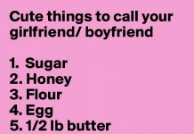 Nicknames For Your Boyfriend